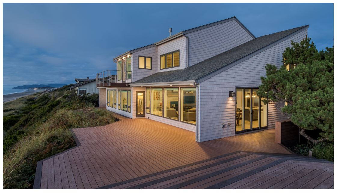 Whole house remodel on the Oregon Coast