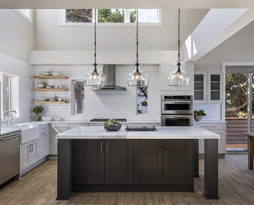Custom kitchen remodel by C&R Remodeling