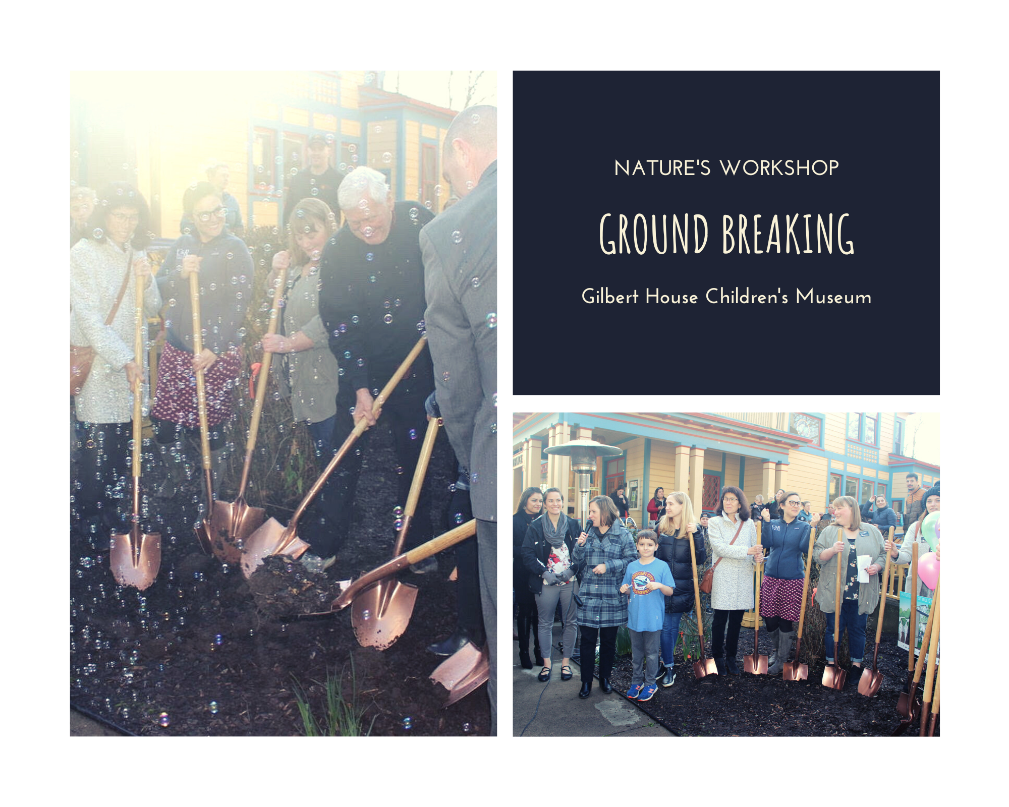 Nature's Workshop groundbreaking